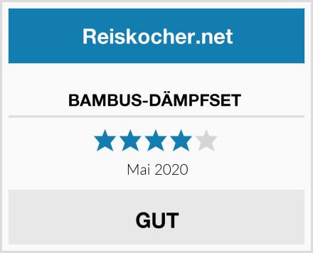 BAMBUS-DÄMPFSET  Test