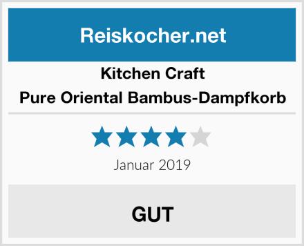 Kitchen Craft Pure Oriental Bambus-Dampfkorb Test