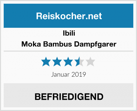 Ibili Moka Bambus Dampfgarer Test