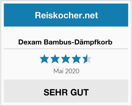 No Name Dexam Bambus-Dämpfkorb  Test