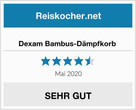 Dexam Bambus-Dämpfkorb  Test