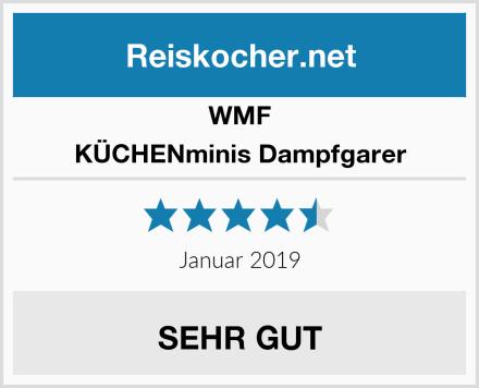 WMF KÜCHENminis Dampfgarer Test