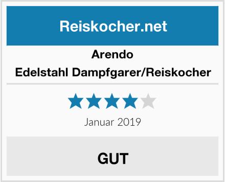 Arendo Edelstahl Dampfgarer/Reiskocher Test