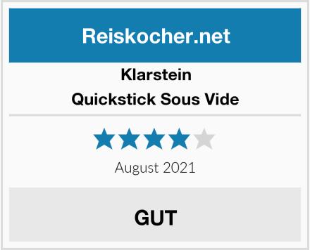 Klarstein Quickstick Sous Vide Test