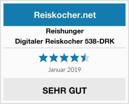 Reishunger Digitaler Reiskocher 538-DRK Test