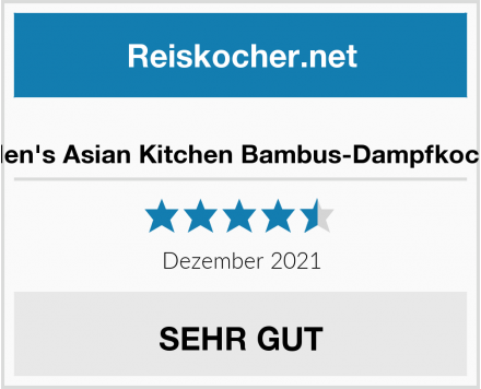 Helen's Asian Kitchen Bambus-Dampfkocher Test