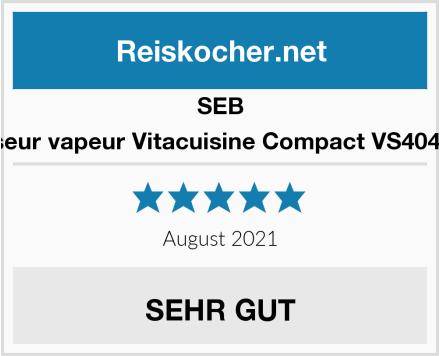 Seb Cuiseur vapeur Vitacuisine Compact VS404300  Test