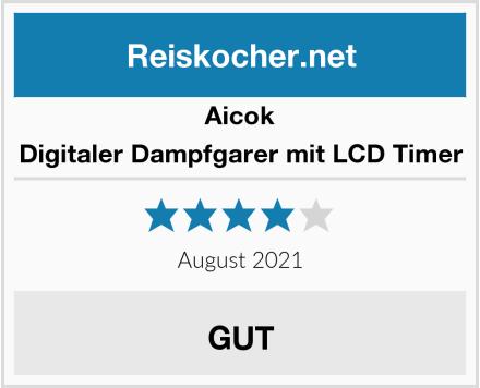 Aicok Digitaler Dampfgarer mit LCD Timer Test