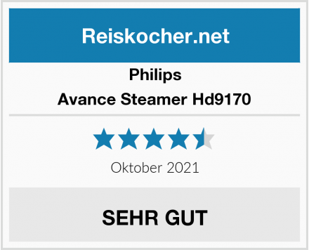 Philips Avance Steamer Hd9170 Test