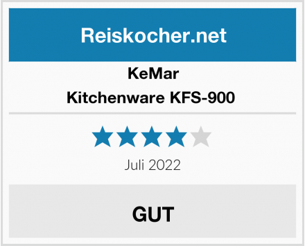 KeMar Kitchenware KFS-900  Test