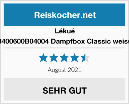 Lékué 3400600B04004 Dampfbox Classic weiss Test