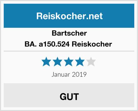 Bartscher BA. a150.524 Reiskocher  Test