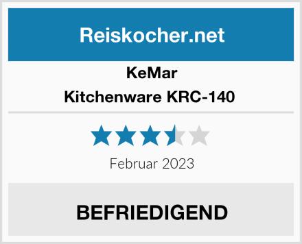 KeMar Kitchenware KRC-140  Test