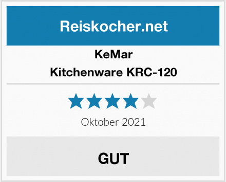 KeMar Kitchenware KRC-120  Test