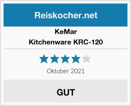 KeMar Kitchenware KRC-120  Test