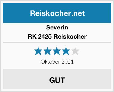 Severin RK 2425 Reiskocher  Test