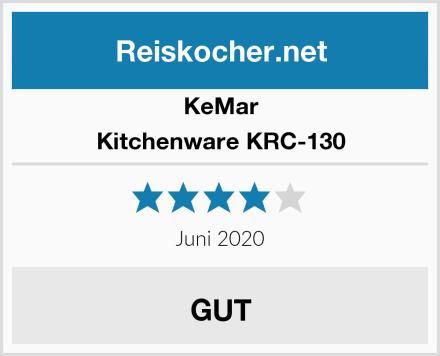 KeMar Kitchenware KRC-130 Test
