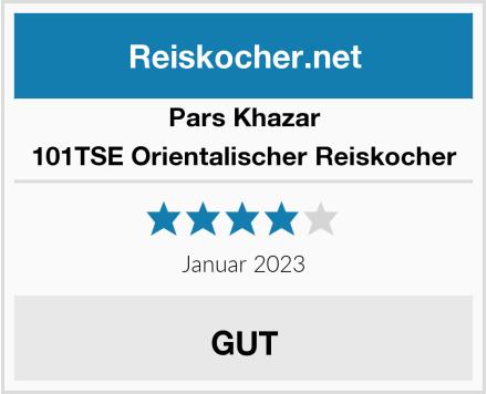 Pars Khazar 101TSE Orientalischer Reiskocher  Test