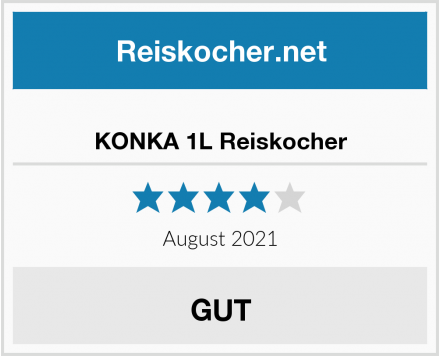 KONKA 1L Reiskocher Test