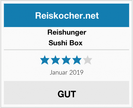 Reishunger Sushi Box  Test