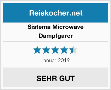 Sistema Microwave Dampfgarer Test