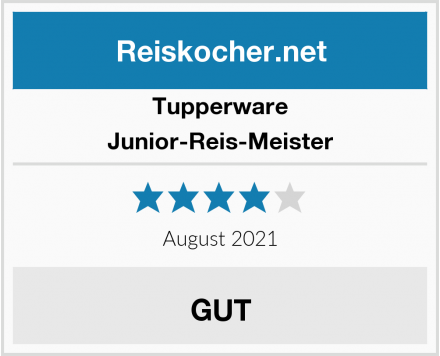 Tupperware Junior-Reis-Meister Test