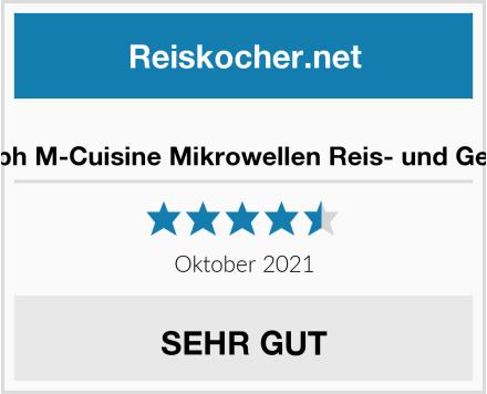 No Name Joseph Joseph M-Cuisine Mikrowellen Reis- und Getreidekocher Test