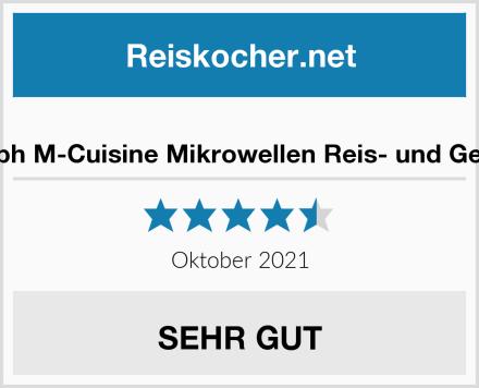 Joseph Joseph M-Cuisine Mikrowellen Reis- und Getreidekocher Test