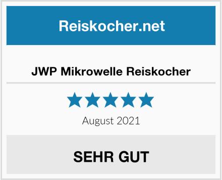 JWP Mikrowelle Reiskocher Test