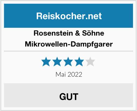 Rosenstein & Söhne Mikrowellen-Dampfgarer Test