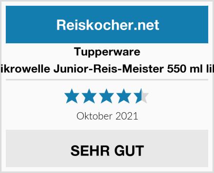 Tupperware Mikrowelle Junior-Reis-Meister 550 ml lila  Test