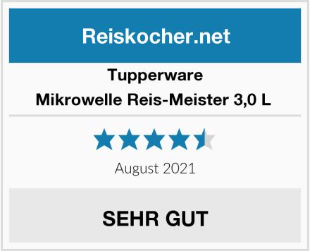 Tupperware Mikrowelle Reis-Meister 3,0 L  Test