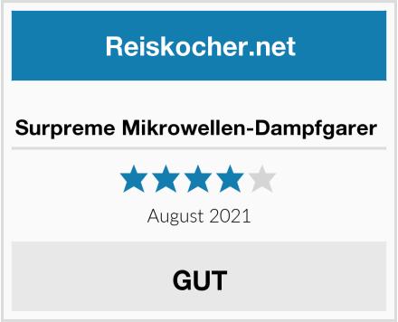 No Name Surpreme Mikrowellen-Dampfgarer  Test