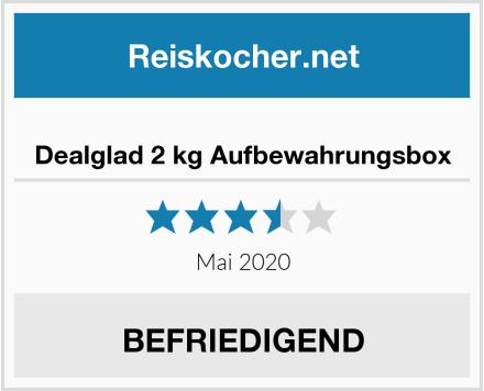 Dealglad 2 kg Aufbewahrungsbox Test