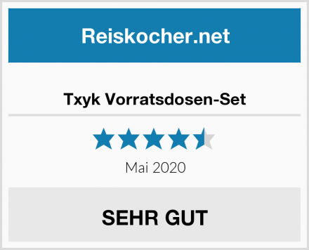 Txyk Vorratsdosen-Set Test