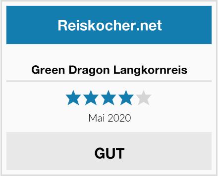 Green Dragon Langkornreis Test