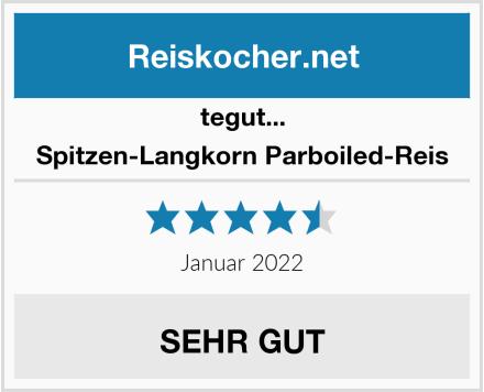 Tegut Spitzen-Langkorn Parboiled-Reis Test
