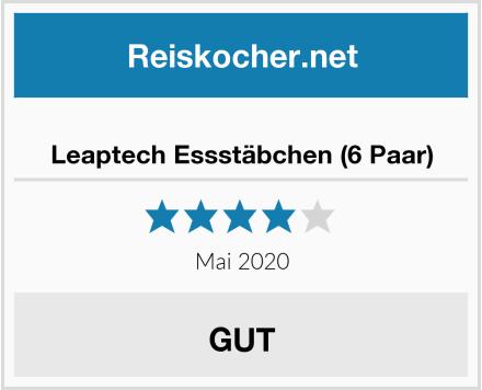 Leaptech Essstäbchen (6 Paar) Test