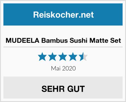 MUDEELA Bambus Sushi Matte Set Test