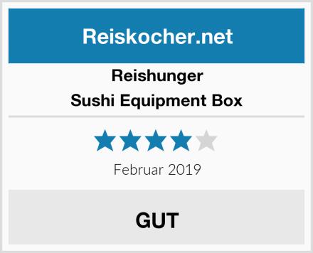 Reishunger Sushi Equipment Box Test