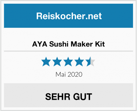AYA Sushi Maker Kit Test