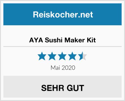 AYA Sushi Maker Kit Test