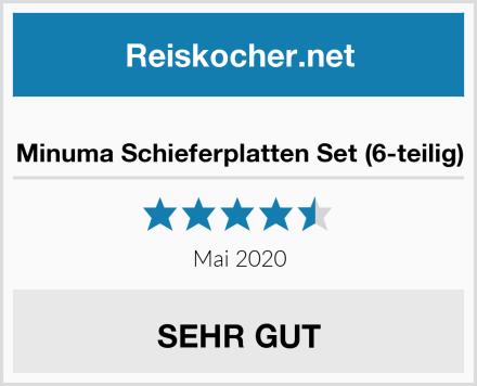 Minuma Schieferplatten Set (6-teilig) Test