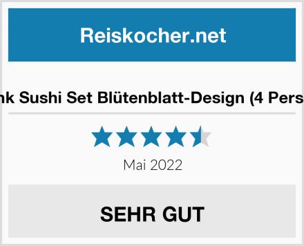 Finsink Sushi Set Blütenblatt-Design (4 Personen) Test