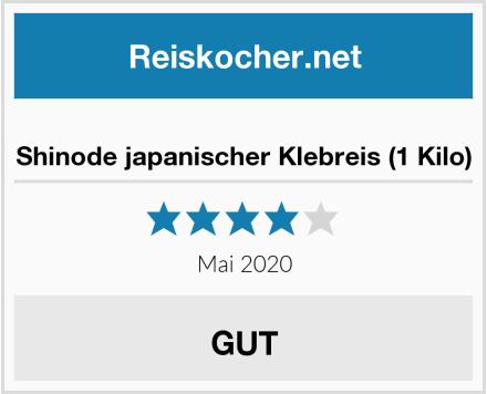 Shinode japanischer Klebreis (1 Kilo) Test