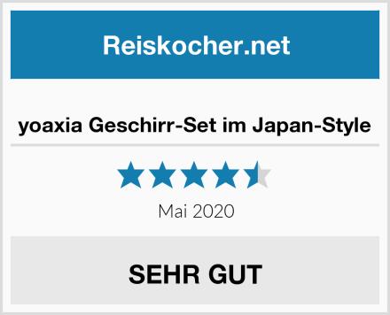 yoaxia Geschirr-Set im Japan-Style Test