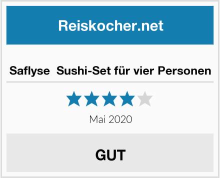 Saflyse  Sushi-Set für vier Personen Test