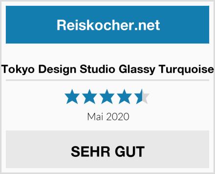 Tokyo Design Studio Glassy Turquoise Test