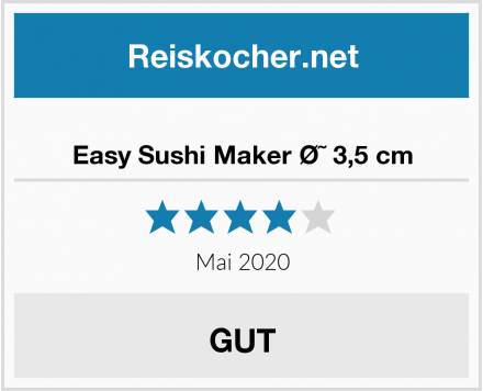 Easy Sushi Maker ؘ 3,5 cm Test