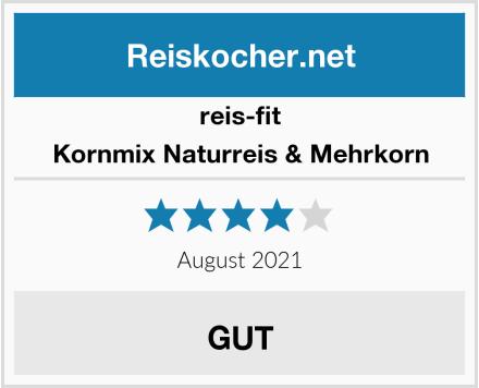 reis-fit Kornmix Naturreis & Mehrkorn Test